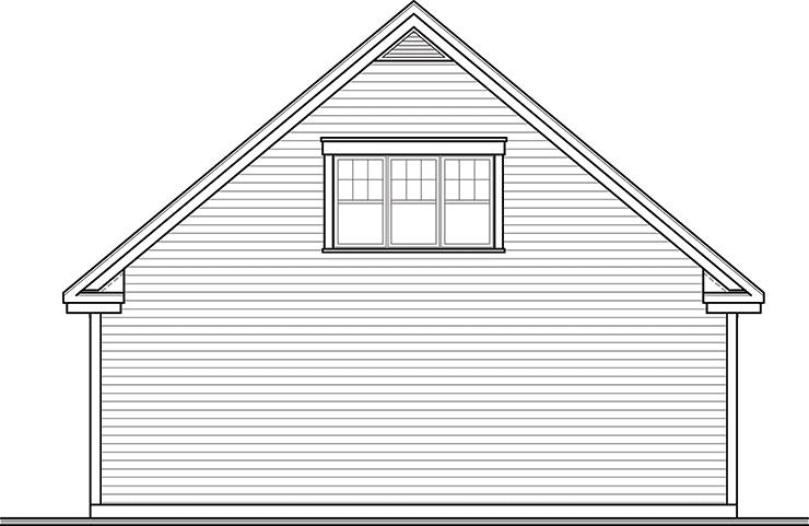 32 X 30 Gable Roof Garage Kit Kb Prefab