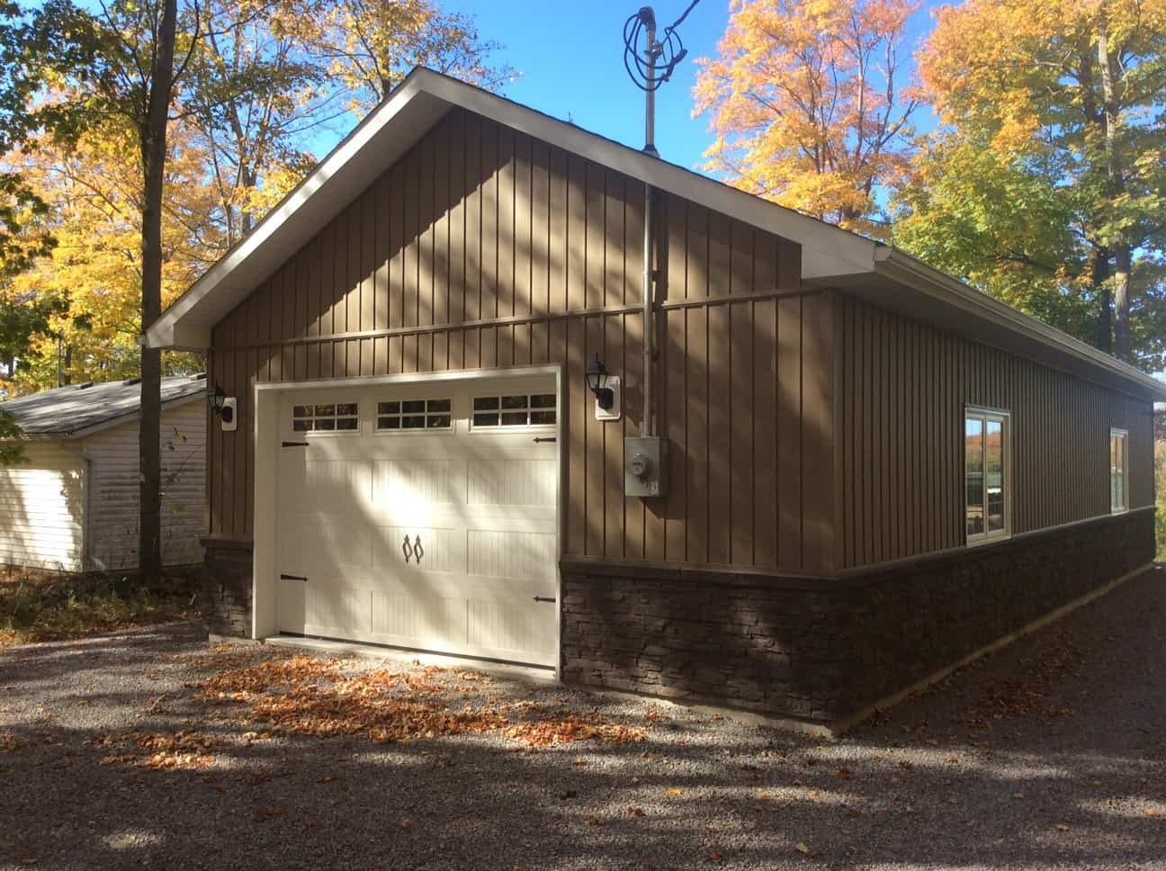 Oversized Single Car Garage built by KB Prefab